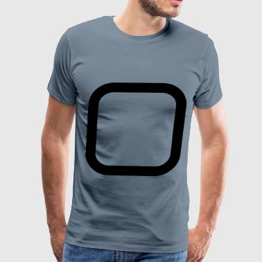 Checkboxes Checkbox Unchecked - Men's Premium T-Shirt