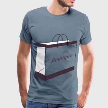 Boutique Boutique Shopping Bag - Men's Premium T-Shirt