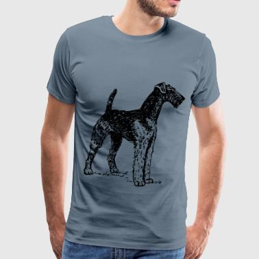 Airedale - Men's Premium T-Shirt