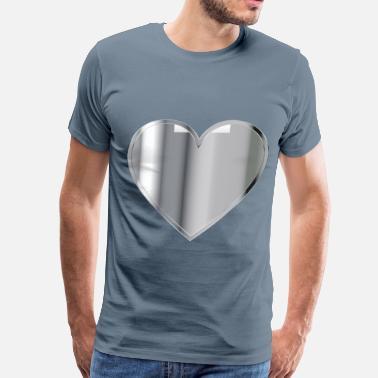411339d17 Chrome Hearts Chrome Heart - Men's Premium T-Shirt