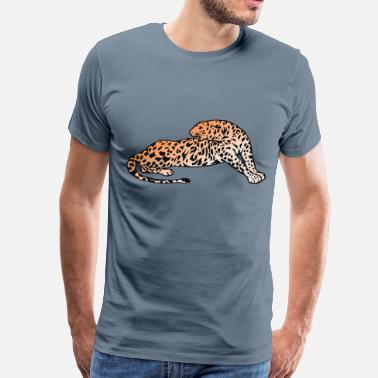 Mouser Leopard - Men's Premium T-Shirt