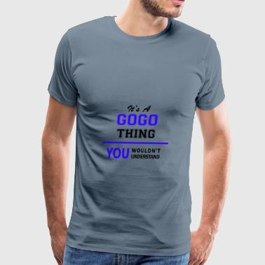 gogo thing, you wouldn't understand - Men's Premium T-Shirt