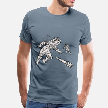 Outer Space outer space - Men's Premium T-Shirt