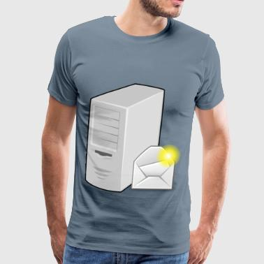 EMail Server - Men's Premium T-Shirt
