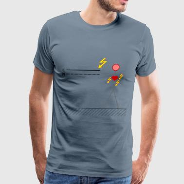 Electric Shock electric shock - Men's Premium T-Shirt