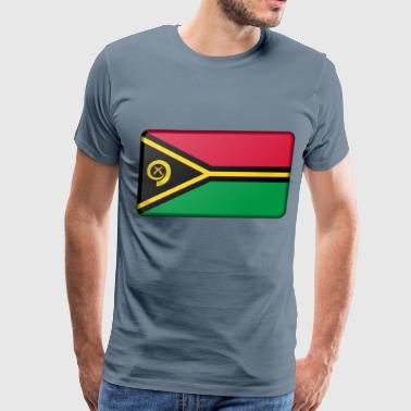 Flag of Vanuatu - Men's Premium T-Shirt