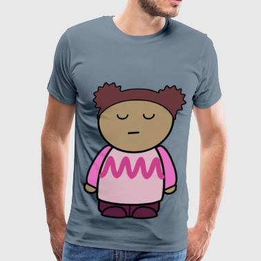 mix and match character lily disdain front - Men's Premium T-Shirt