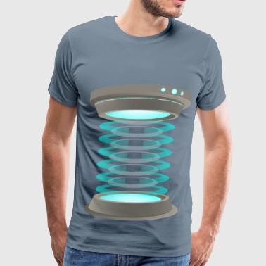 Teleportation - Men's Premium T-Shirt