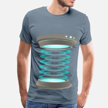Teleporter Teleportation - Men's Premium T-Shirt