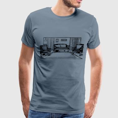 Furniture - Men's Premium T-Shirt