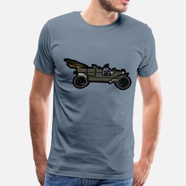 1910 Black 1910 ModelT - Men's Premium T-Shirt