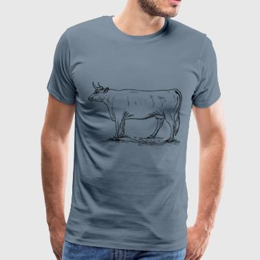 Cow 3 - Men's Premium T-Shirt