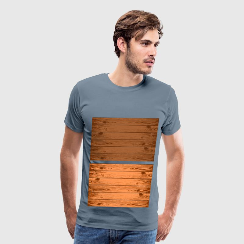Wood grain texture - Men's Premium T-Shirt