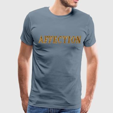 Noble characteristic typography affection - Men's Premium T-Shirt