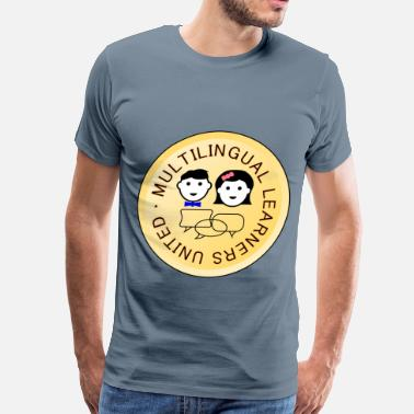 Multilingue Multilingual Learners United 2 - Men's Premium T-Shirt