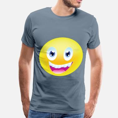 Gay Smiley Smiley Face - Men's Premium T-Shirt