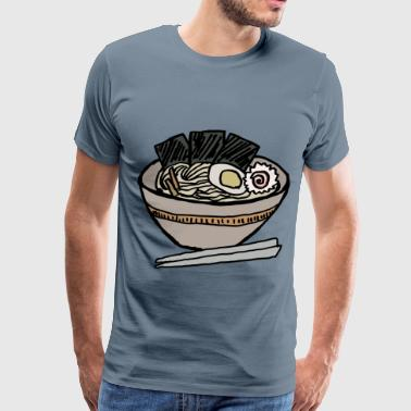 Ramen Bowl with Nori - Men's Premium T-Shirt