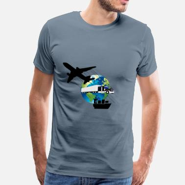 Shipping And Logistics Logistic - Men's Premium T-Shirt