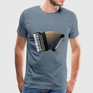 Piano Accordion - Men's Premium T-Shirt