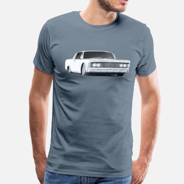 Lincoln 1965 Lincoln Continental drawing - Men's Premium T-Shirt