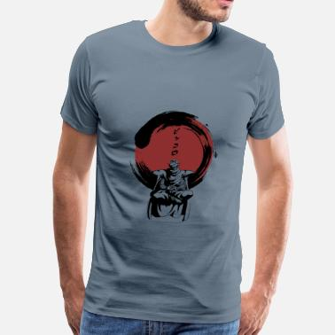 Zen Zen with Piccolo - Ginger Beer - Men's Premium T-Shirt