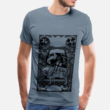 Knight Medieval banners - Men's Premium T-Shirt