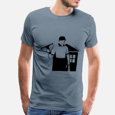 window cleaner - Men's Premium T-Shirt