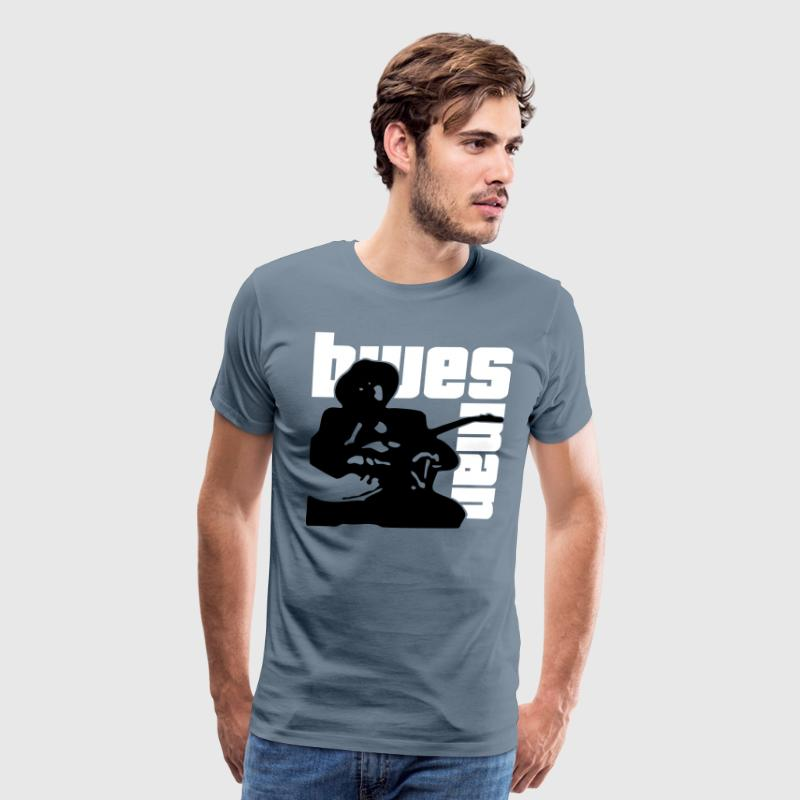 mr bluesman - Men's Premium T-Shirt