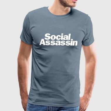 Lucifer Social Assassin - Men's Premium T-Shirt