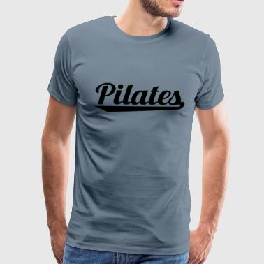 pilates - Men's Premium T-Shirt