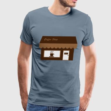 Coffee Shop - Men's Premium T-Shirt