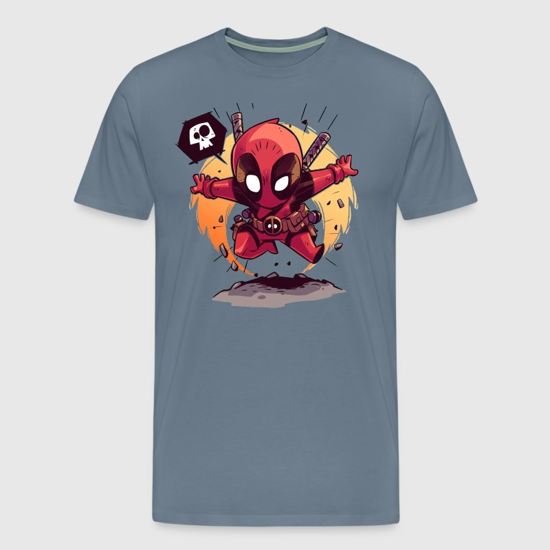 deadpool chubby - Men's Premium T-Shirt