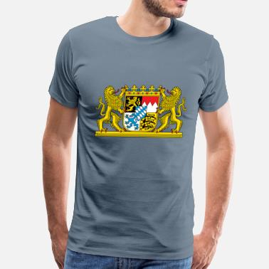 Bavaria Bavaria Coat Of Arms - Men's Premium T-Shirt