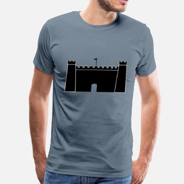 Haunted Castle Castle - Men's Premium T-Shirt