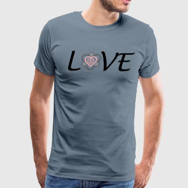 Adoption is LOVE - Men's Premium T-Shirt