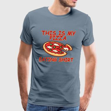 this_is_my_pizza_eating_shirt - Men's Premium T-Shirt