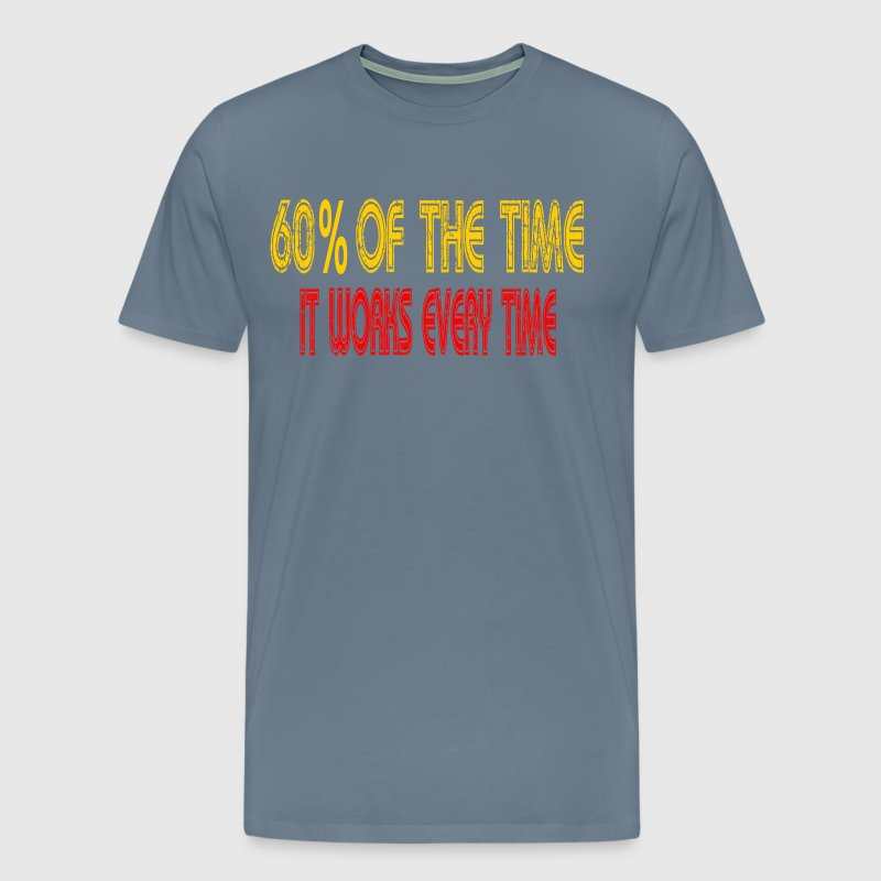 Anchorman - 60% Of The Time It Works Everytime - Men's Premium T-Shirt