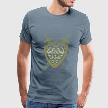Protection- only the best protection - Men's Premium T-Shirt