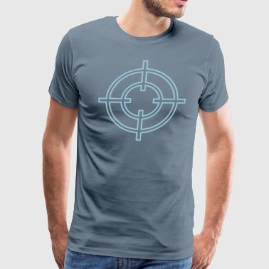 Crosshairs crosshair - Men's Premium T-Shirt