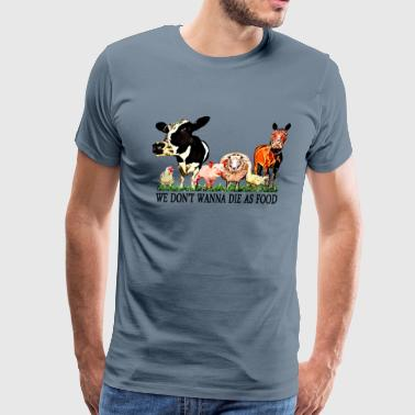 Loving Animals 3 - Men's Premium T-Shirt