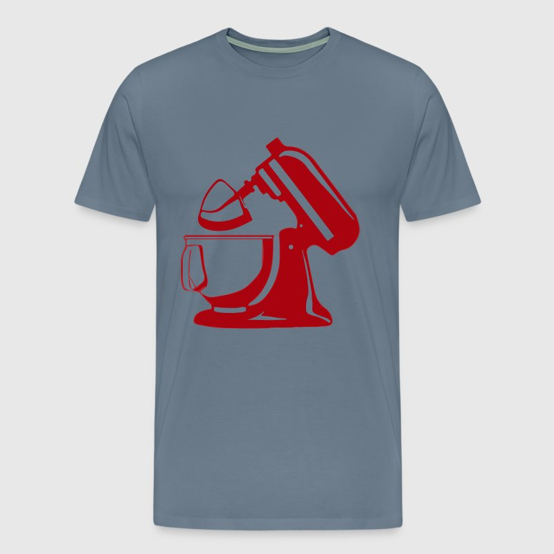 Stand Mixer Vector - Men's Premium T-Shirt