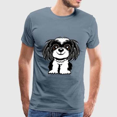 Dog Shih-Tzu - Men's Premium T-Shirt