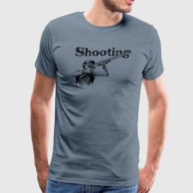Shooting - Men's Premium T-Shirt