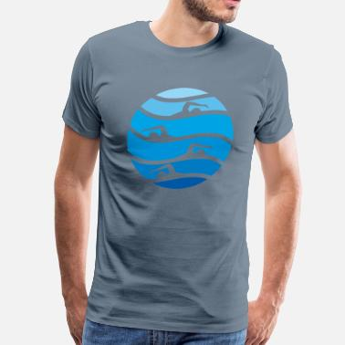 Meet swimming - Men's Premium T-Shirt