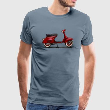 Vespa Scooter - Men's Premium T-Shirt