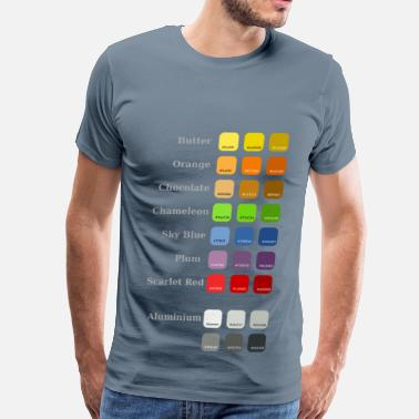 Color Tango Palette - Men's Premium T-Shirt