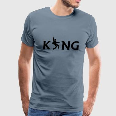Elvis Dance The King - Men's Premium T-Shirt