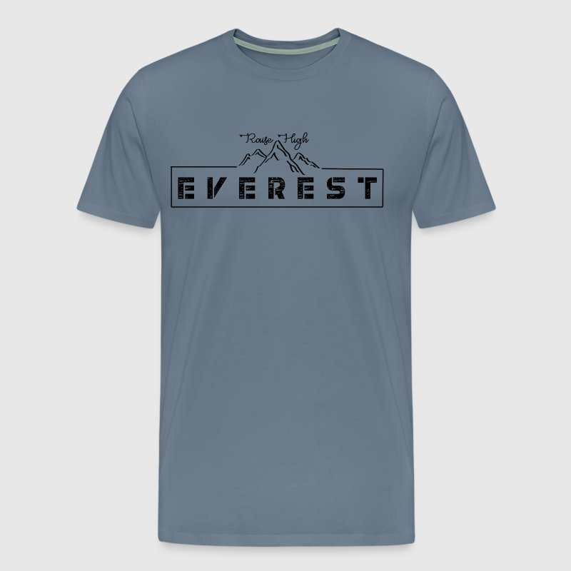 CREATIVE DESIGN || MOUNT EVEREST - Men's Premium T-Shirt