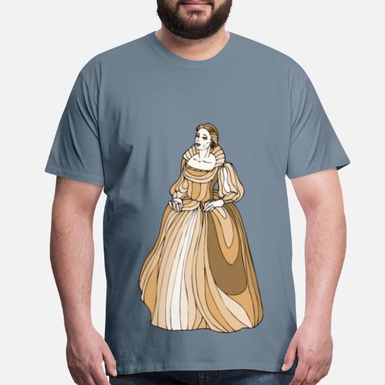 Shakespeare characters Desdamona Men's Premium T-Shirt | Spreadshirt