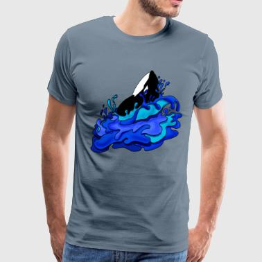 Killer Whale - Men's Premium T-Shirt